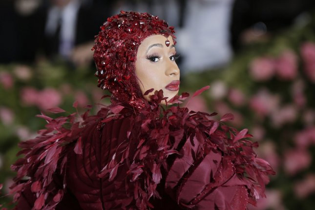 Cardi B was indicted by a grand jury in New York following an alleged altercation with two bartender sisters in August. File Photo by John Angelillo/UPI