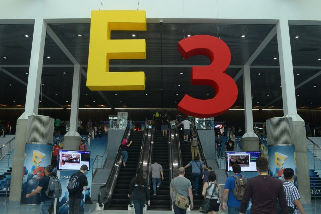 The E3 Awards Show will be held June 15, the final day of the video game convention and trade show, which will be all-virtual this year. File Photo by Jim Ruymen/UPI