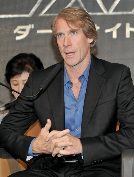 Japan on July 15, 2011: Director Michael Bay attends a press conference for the film Transformers: Dark of the Moon in Osaka, Japan, on July 16, 2011. UPI/Keizo Mori