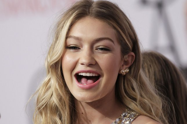 Gigi Hadid at the CFDA Fashion Awards on June 1. The model will star in new Calvin Harris music video 'How Deep is Your Love.' File photo by John Angelillo/UPI