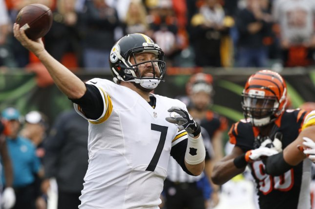 The Pittsburgh Steelers and quarterback Ben Roethlisberger host the Denver Broncos in a marquee NFL Week 15 game. Photo by John Sommers II/UPI