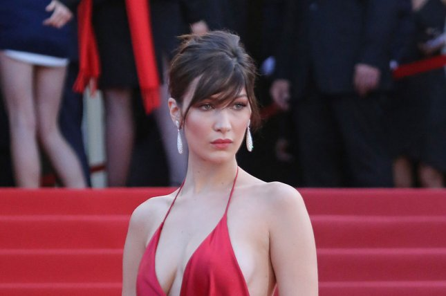 Bella Hadid at the Cannes International Film Festival screening of La fille inconnue on May 18. File Photo by David Silpa/UPI