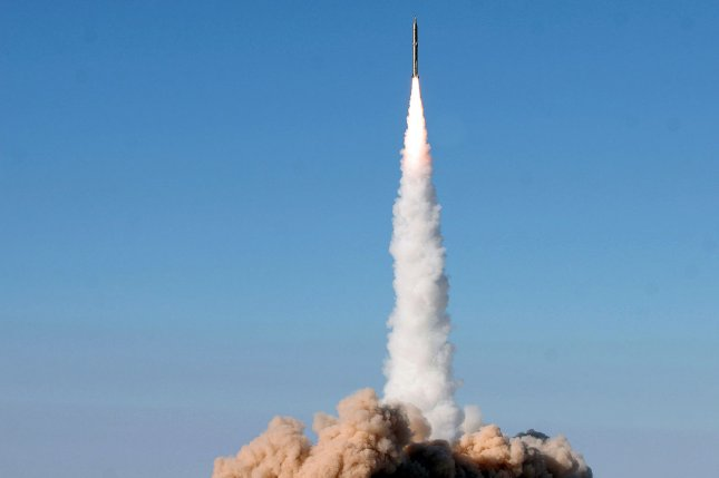 Iran conducted a missile test Sunday and the U.N. Security Council is expected to hold an emergency meeting on Tuesday as a response. File Photo by Vahid Reza Alaie/Fars News Agency/UPI