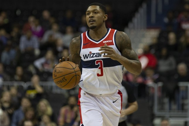Washington Wizards shooting guard Bradley Beal has been at the center of trade rumors since the first month of the season. Photo by Alex Edelman/UPI