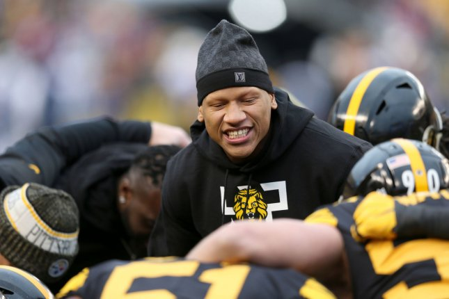 bf1c1474bc9 Watch  Steelers LB Ryan Shazier shows progress with box jump - UPI.com