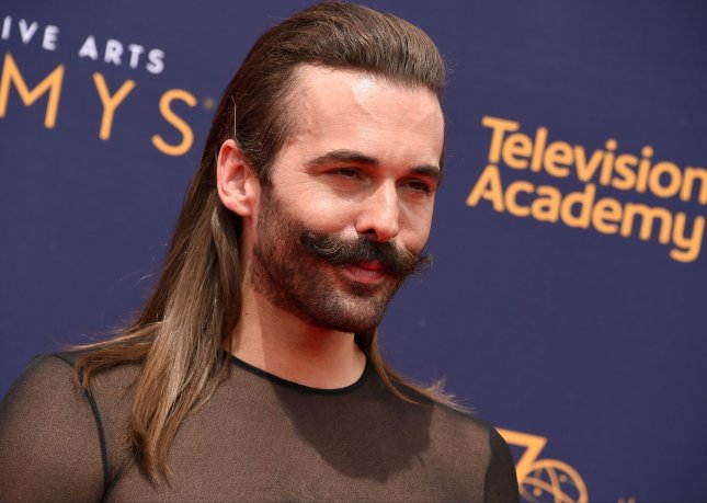 Queer Eye star Jonathan Van Ness has revealed he is HIV positive. File Photo by Gregg DeGuire/UPI