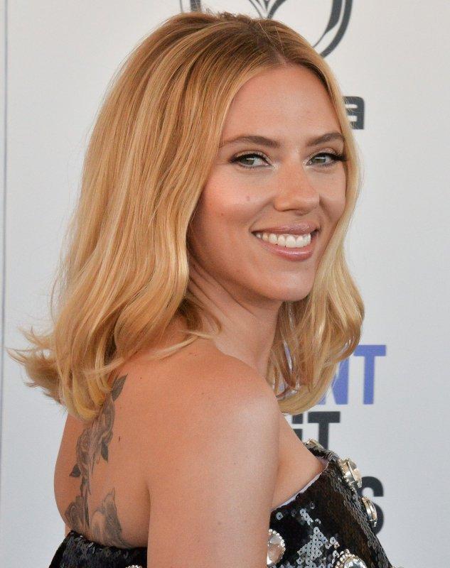Scarlett Johansson's Black Widow is the No. 1 movie in North America this weekend. File Photo Jim Ruymen/UPI