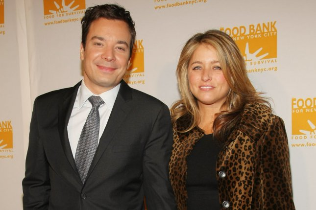 jimmy Fallon and his wife Nancy welcomed baby Frances, their second child, in December 2014. File photo by Monika Graff.