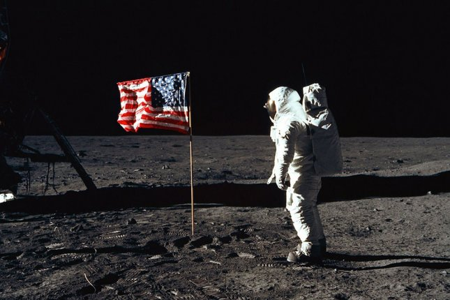 A Russian official has called for an international investigation into the Apollo moon landing. File photo NASA/UPI