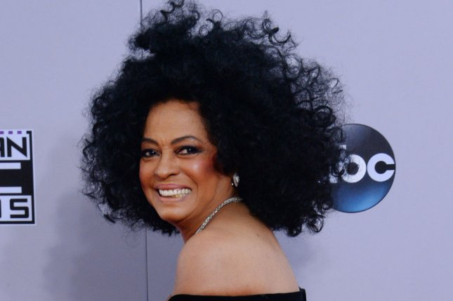 Diana Ross at the American Music Awards on November 23, 2014. File Photo by Jim Ruymen/UPI