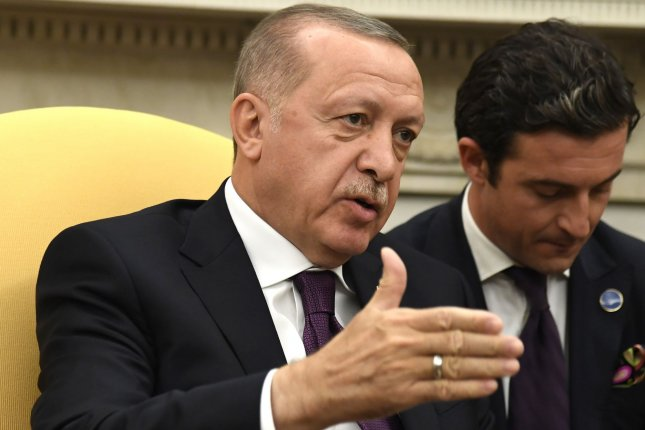 Turkish President Recep Tayyip Erdogan said Thursday he will send a bill to Parliament calling for sending troops to Libya. File Photo by Mike Theiler/UPI
