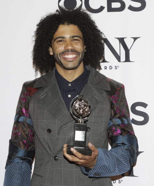Daveed Diggs arrives in the press room after winning a Tony Award at the 70th Annual Tony Awards at the Beacon Theatre on June 12, 2016 in New York City. He does his final performance in Hamilton on July 19. File Photo by John Angelillo/UPI
