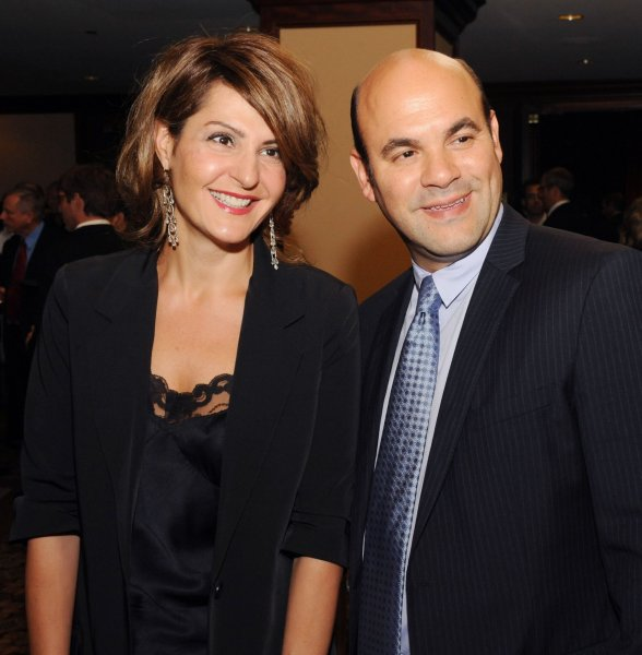 My Big Fat Greek Wedding writer and star Nia Vardalos and her husband Ian Gomez have split up. They tied the knot in 1995. File Photo by Jim Ruymen/UPI