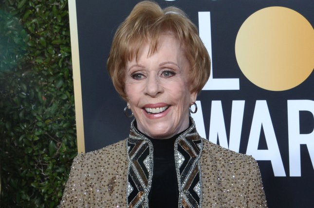 Carol Burnett's memoir is being turned into a film. File Photo by Jim Ruymen/UPI