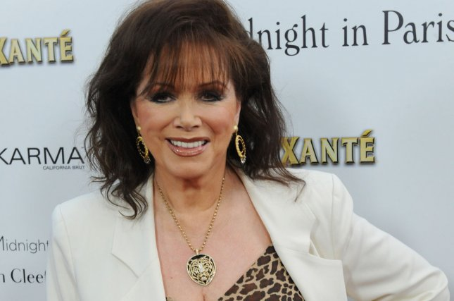 Passion Pictures is producing a new documentary film about Jackie Collins, a British author known for her romance novels. File Photo by Jim Ruymen/UPI