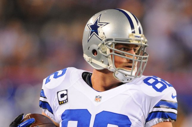 Former Dallas Cowboys tight end Jason Witten announced his retirement from the NFL last week, ending his 17-year run in the league. File Photo by Rich Kane/UPI