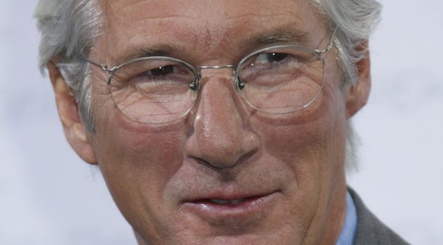 Richard Gere arrives at a photocall for the film A Dog's Story during the 4th Rome International Film Festival in Rome on October 16, 2009. UPI Photo/David Silpa