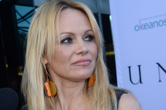 Actress Pamela Anderson will meet with Russia's Minister of Natural Resources and Environment at the upcoming East Russia Economic Forum to discuss environmental issues.. File photo by Jim Ruymen/UPI