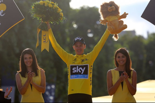 Chris Froome of Great Britain. Photo by David Silpa/UPI