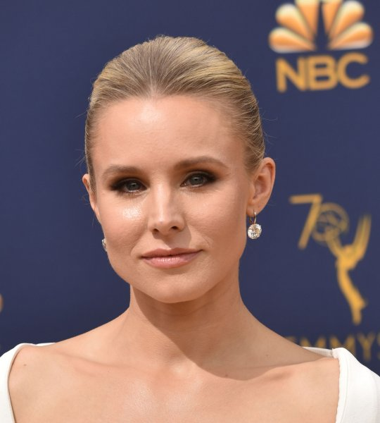 Kristen Bell shared a photo on her Instagram story showing her posing with cast and crew members of Hulu's Veronica Mars revival. File Photo by Christine Chew/UPI