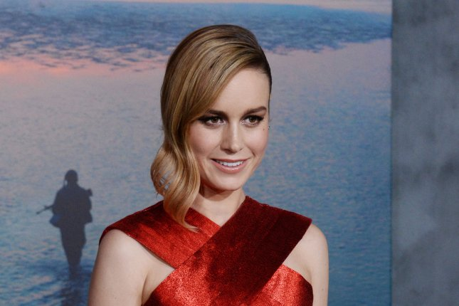Brie Larson attends the Los Angeles premiere of Kong: Skull Island on March 8. The actress will star in the forthcoming Amazon Studios movie Victoria Woodhull. File Photo by Jim Ruymen/UPI