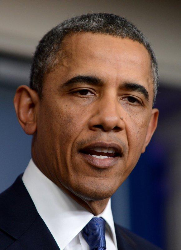 U.S. President Barack Obama at the White House in Washington, Dec. 28, 2012. UPI/Pat Benic