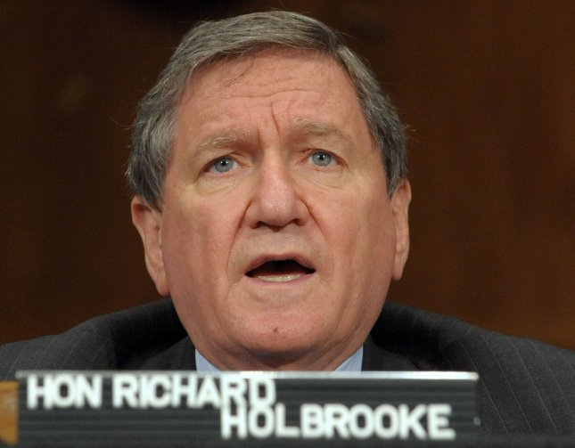 Richard Holbrooke, special representative for Afghanistan and Pakistan at the State Department, testifies before the Senate Foreign Relations Committee regarding U.S. strategy in Pakistan on Capitol Hill in Washington on May 12, 2009. (UPI Photo/Roger L. Wollenberg)