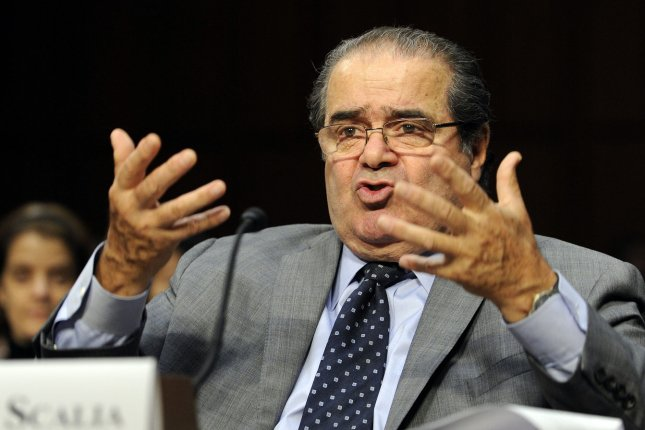 Supreme Court Justice Antonin Scalia testifies before the Senate Judiciary Committee hearing titled Considering the Role of Judges Under the Constitution of the United States on Capitol Hill in Washington on October 5, 2011. UPI/Roger L. Wollenberg