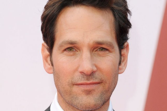 American actor Paul Rudd attends the European premiere of 'Ant-Man' at Odeon Leicester Square in London on July 8, 2015. Photo by Paul Treadway/UPI