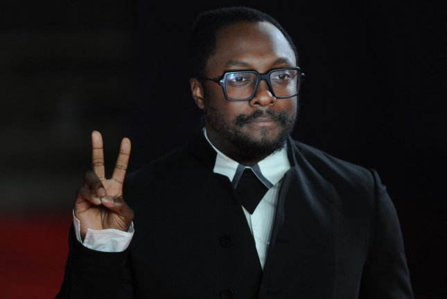 American singer/songwriter will.i.am attends the world premiere of new Bond film Spectre in London on October 26, 2015. File Photo by Paul Treadway/UPI