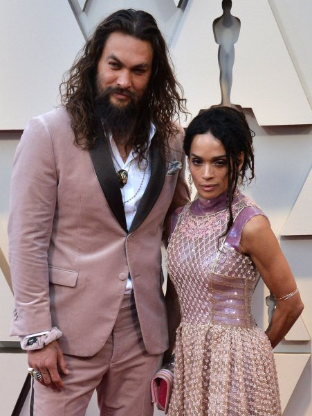 Jason Momoa and his wife, Lisa Bonet, arrive on the red carpet for the 91st annual Academy Awards in Los Angeles on Sunday. The sequel to Momoa's blockbuster Aquaman is set for release in 2022. Photo by Jim Ruymen/UPI
