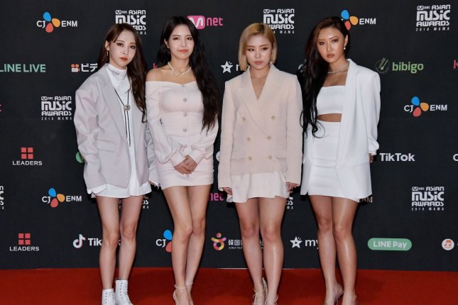 Mamamoo released a preview of their video for Mumumumuch, a new single from their compilation album I Say Mamamoo: The Best. File Photo by Keizo Mori/UPI