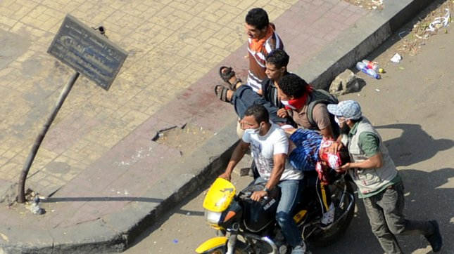 Dozens reported killed in Egypt protests
