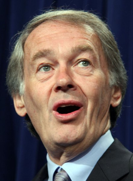 Rep. Ed Markey (D-MA) testified that penalties for oil spills should be higher so energy companies get the message. File photo. (UPI Photo/Jack Hohman)