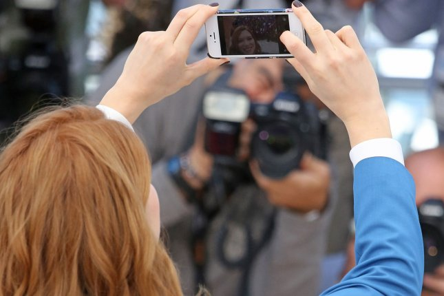 Celebrities won't be able to take photos of themselves at the annual Met Gala. File photo by UPI/David Silpa