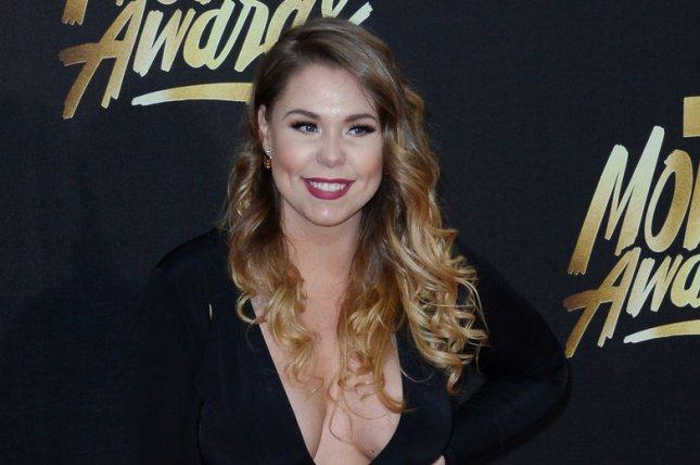 Kailyn Lowry showed off her curves in a nearly-nude picture Thursday. File Photo by Jim Ruymen/UPI