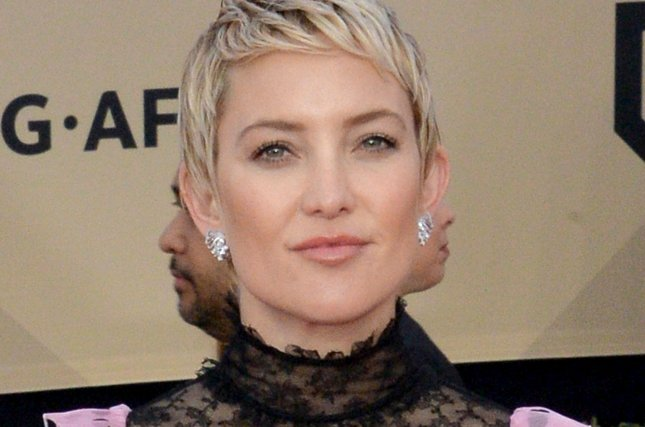 Kate Hudson discussed the challenges of parenting a 15-year-old, an 8-year-old and a 10-month-old infant in the September issue of InStyle. File Photo by Jim Ruymen/UPI