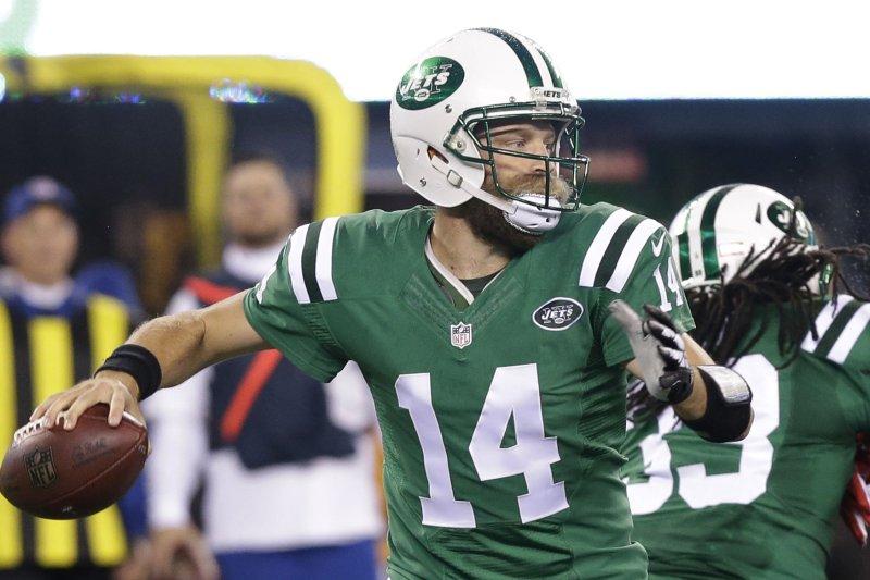 on sale e4335 1271c New York Jets QB Ryan Fitzpatrick to start against Houston ...