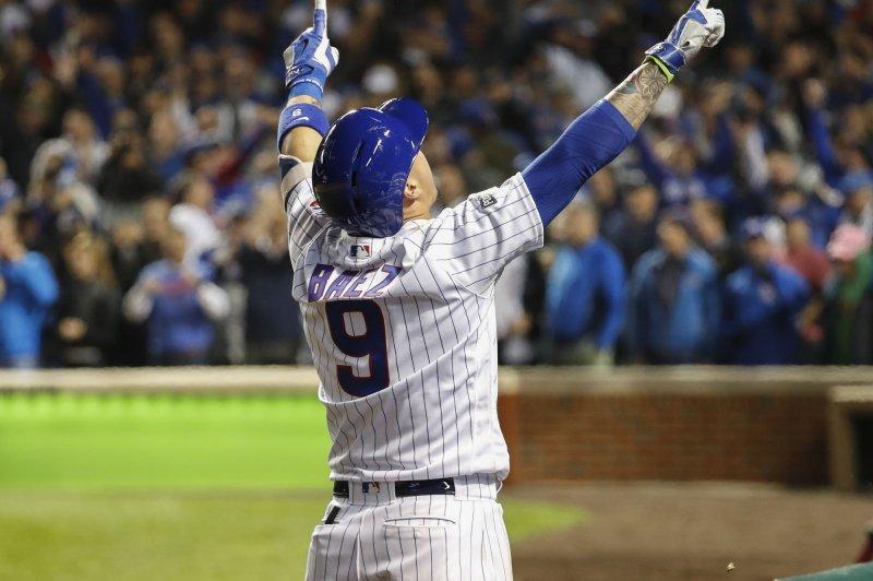 Javier Baez homer gives Chicago Cubs Game 1 victory vs. San Francisco Giants - UPI.com