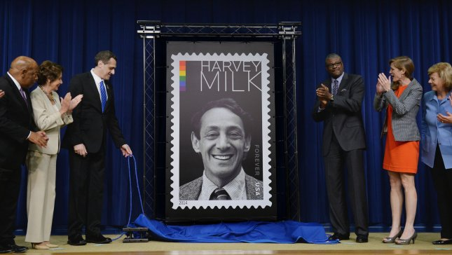 On November 27, 1978, a former San Francisco official killed Mayor George Moscone and Supervisor Harvey Milk, the first openly gay official elected in California. File Photo by Pat Benic/UPI