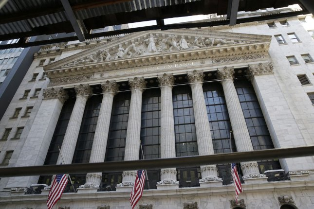 The Dow Jones Industrial Average climbed 139 points on Thursday as tech stocks helped markets rebound from their worst day in months. Photo by John Angelillo/UPI