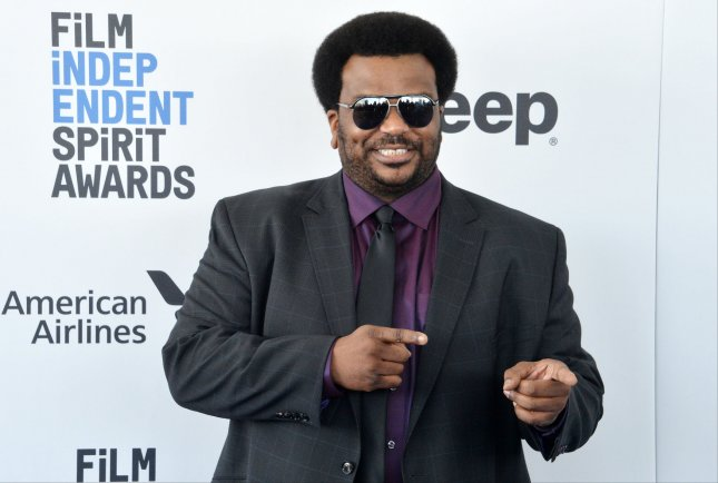 Craig Robinson is the host of the Fox competition show The Masked Dancer. File Photo by Jim Ruymen/UPI
