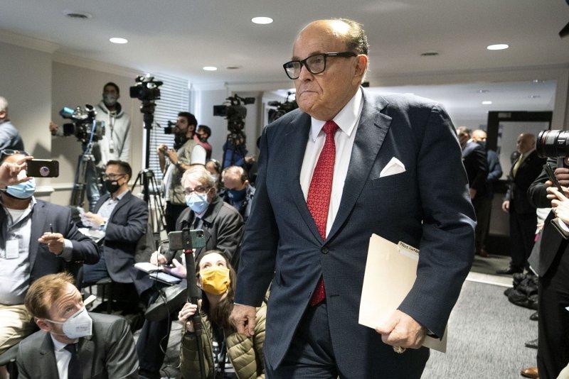 Washington, D.C., suspends Rudy Giuliani's law license