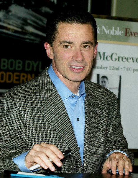 Former New Jersey Governor Jim McGreevey signs copies of his new book The Confession at Barnes & Noble in New York on September 22, 2006. (UPI Photo/Laura Cavanaugh)