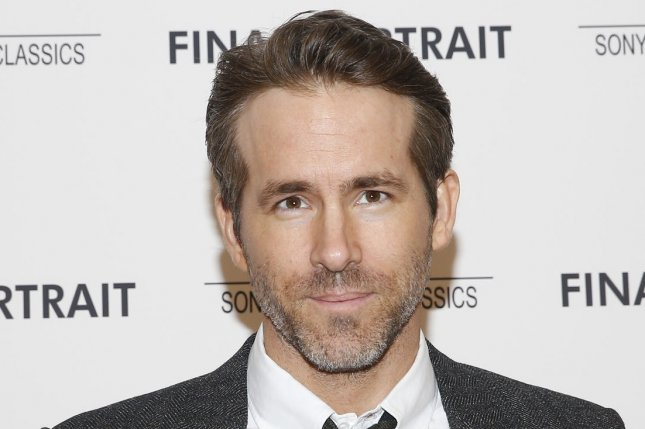 Ryan Reynolds joins Celine Dion as Deadpool in a new music video for her song, Ashes. File Photo by John Angelillo/UPI