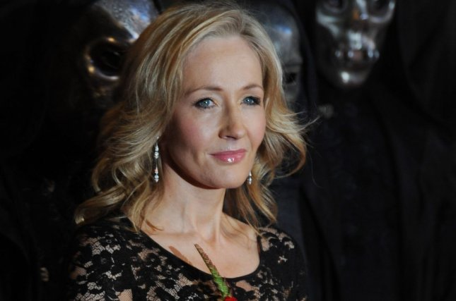 J.K. Rowling attends the world premiere of Harry Potter And The Deathly Hallows on November 11, 2010. The author apologized on social media for the death of character Remus Lupin. File Photo by Rune Hellestad/UPI
