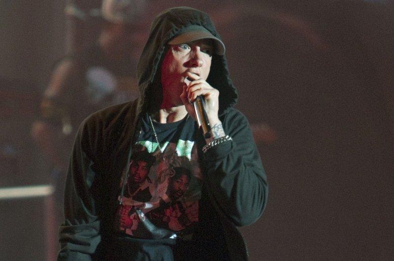 Eminem releases his 10th studio album titled Kamikaze. File Photo by Heinz Ruckemann/UPI