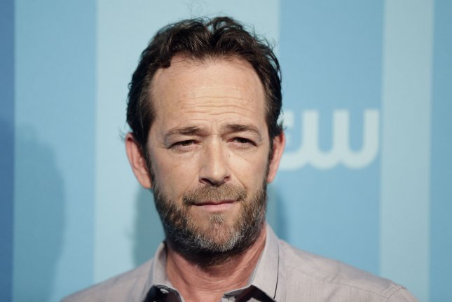 Luke Perry was reportedly rushed to the hospital Wednesday after having a massive stroke. File Photo by John Angelillo/UPI