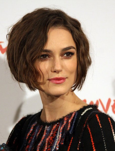 Keira Knightley arrives at a photocall for the film Last Night during the 5th Rome International Film Festival in Rome on October 28, 2010. UPI/David Silpa