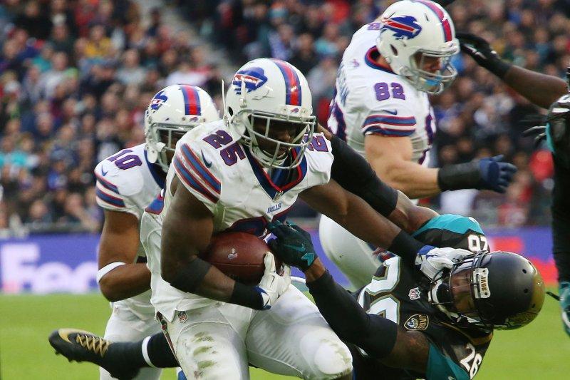 Buffalo Bills Running Back LeSean McCoy. Photo by Hugo Philpott/UPI.